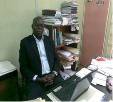 Dr O.I Ismail|faculty of science|university of Ibadan
